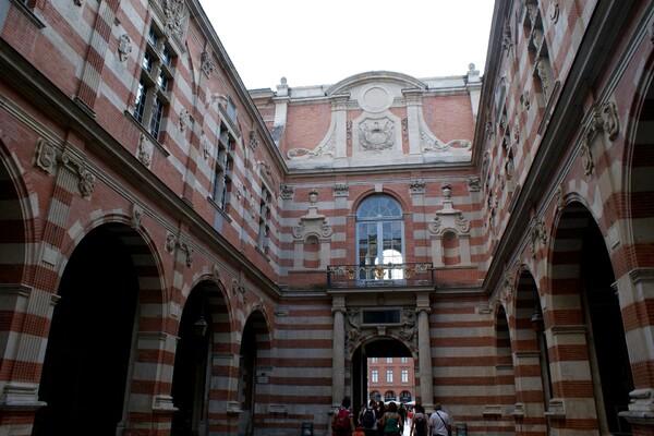 Hôtel de Ville Cour Henri IV