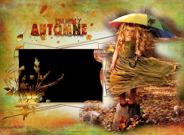 Mes cadres pour l'automne