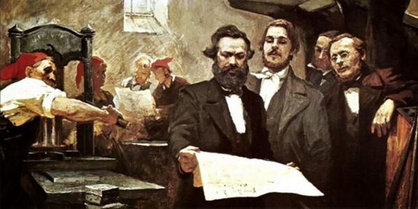 Marx & Engels, Les grands hommes de l'exil, Agone, 2015