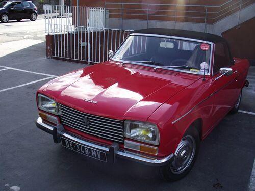 Une Peugeot 304 qui sort de l'usine ?