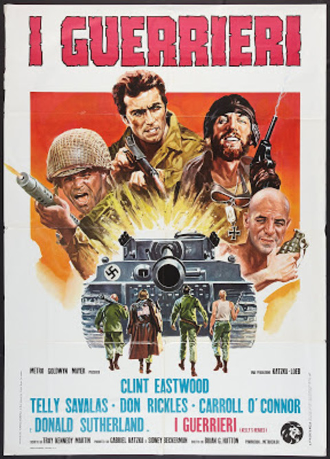 DE L'OR POUR LES BRAVES - CLINT EASTWOOD BOX OFFICE 1971