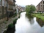 La rivière la Thur qui traverse la ville