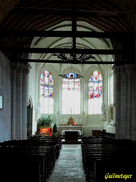 Cangey :Eglise Saint Martin-1