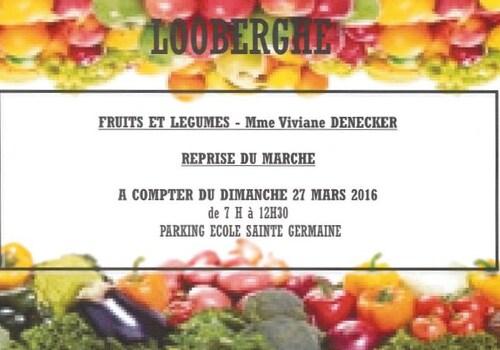Marchand de fruits & légumes