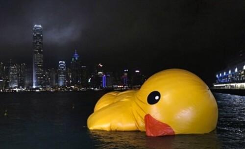 rubber duck HK dégonflé 2