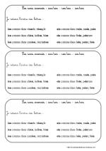 Les sons inversés: ian/ain - ien/ein - ion/oin (ce1)