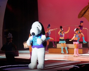 dance ballet skakaters ice snoopy the musical