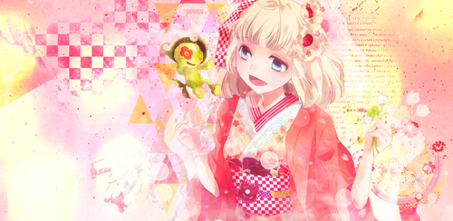 Header Moriyama Shiemi (Blue Exorcist)