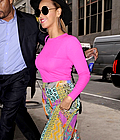Beyonce: Colorful Outfit in NYC !