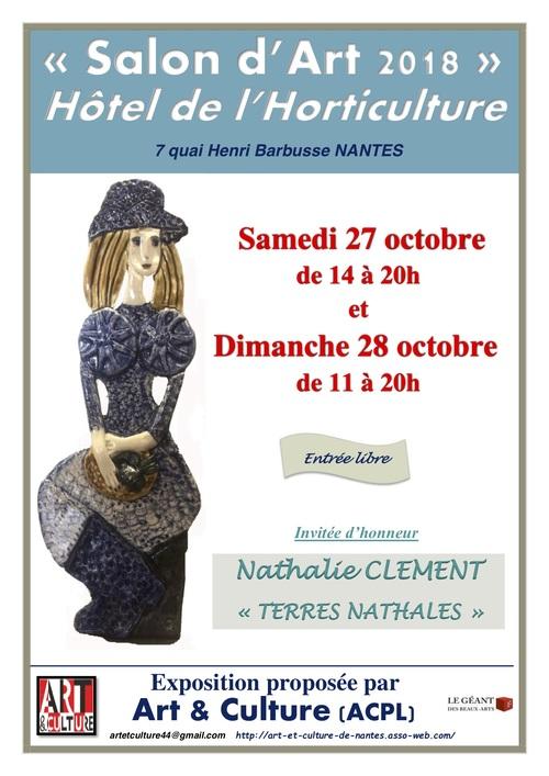 SALON D'ART HOTEL DE L HORTICULTURE NANTES