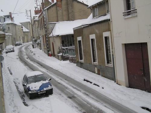 Oh ! La neige !