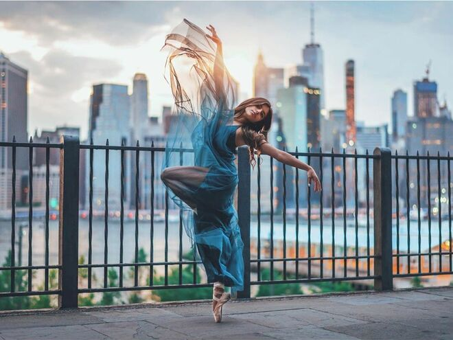 creative photography ideas ballerina by brandon woelfel