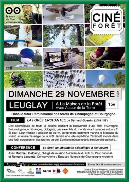 Un après-midi documentaire à la Maison de la Forêt de Leuglay