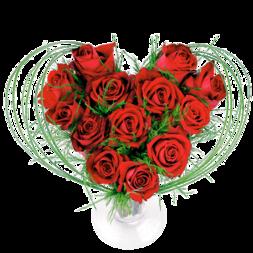 Coeurs fleurs