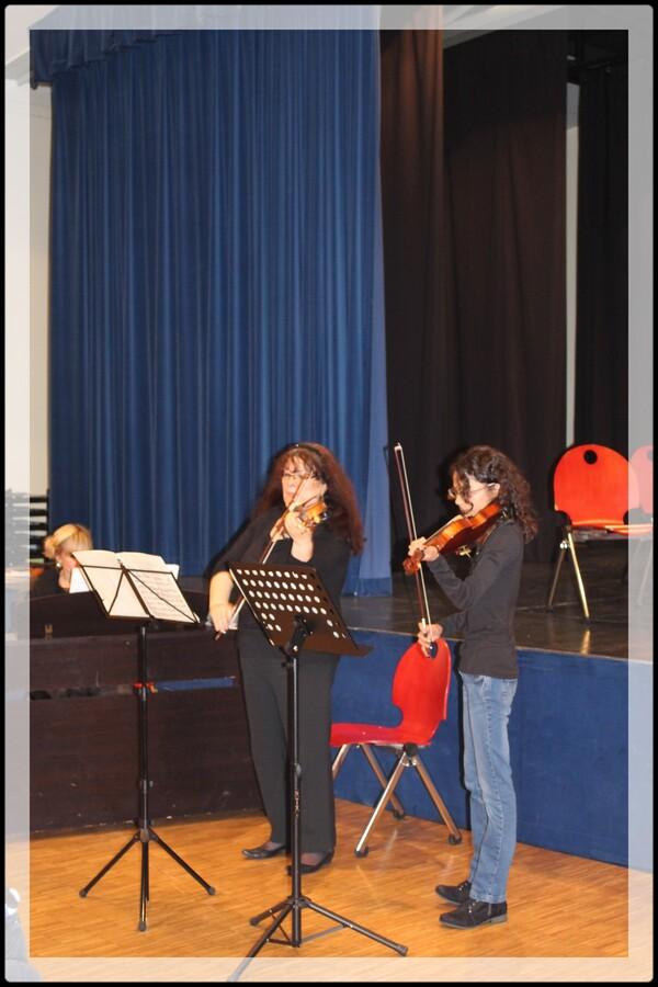 Concert de fin de stage de cordes