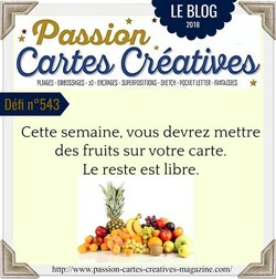 Passion Cartes Créatives#543 !