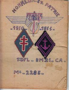 * Ecouter : Journal de Marche de René MARTEL (CA du BM 21) - 6 - Le 8 Mai 1945 en Italie...et conclusion au journal de marche de René Martel