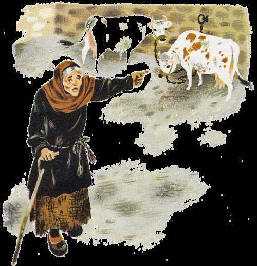 Conte de la vieille qui graissa la patte au chevalier (J. Sablière)