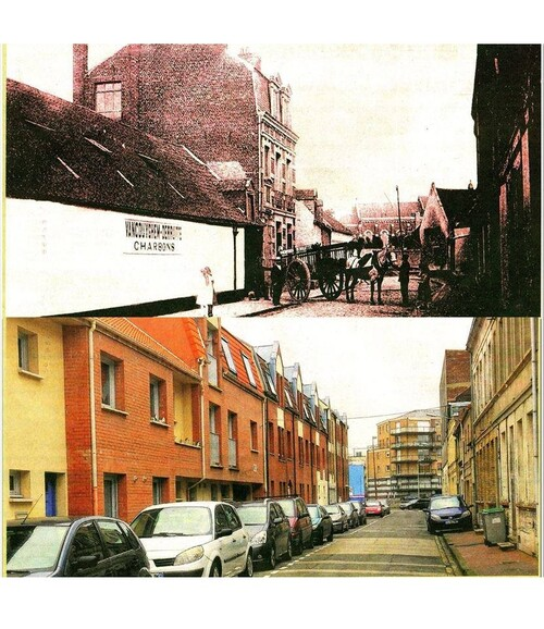 La rue de la Tannerie vers 1910