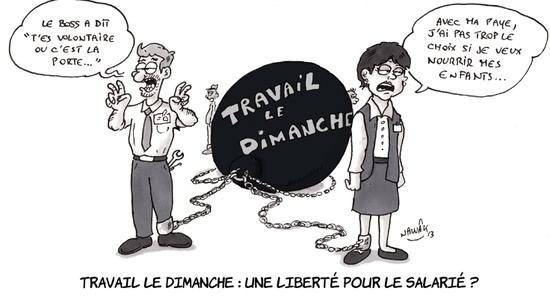 TRAVAIL DIMANCHE 5