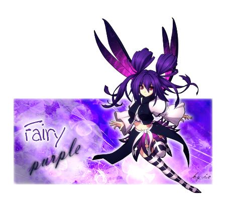Signature Fairy purple