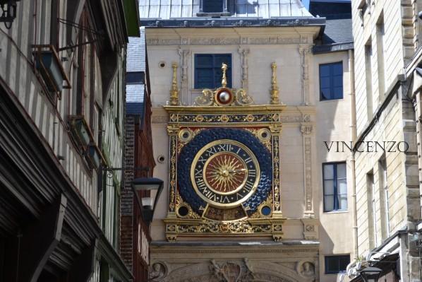 Normandie rouen gros horloge