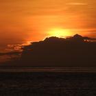 Coucher de soleil à Case-Pilote - Photo : Olivia