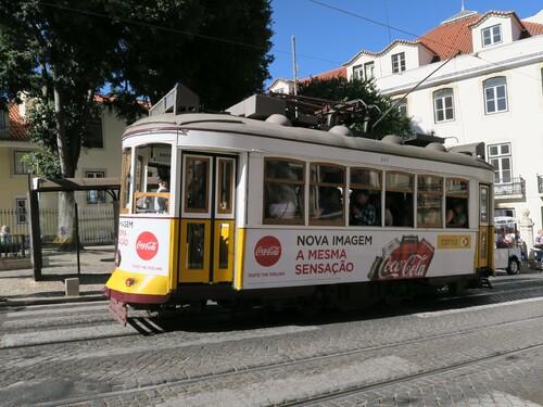 Lisbonne les trams