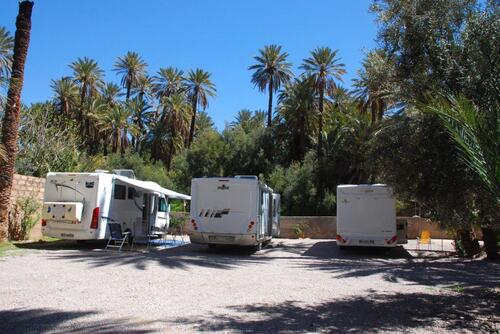 Nos trois camping-cars
