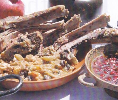 Cuisine sur les bords de la mer Egée...