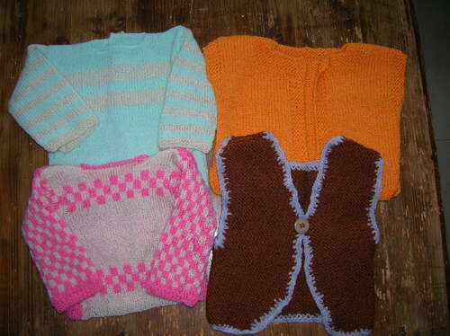 Tricots layettes