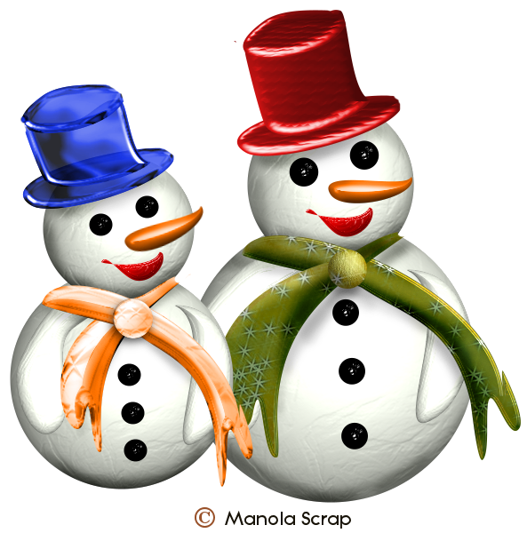 Bonhomme de neige page 1