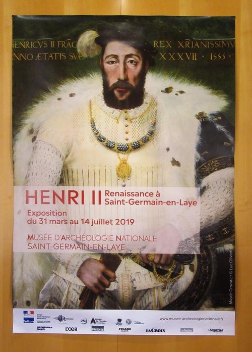 Lors du voyage de la SAHC au Musée National de l'Archéologie, nous avons pu visiter une exposition sur Henri II