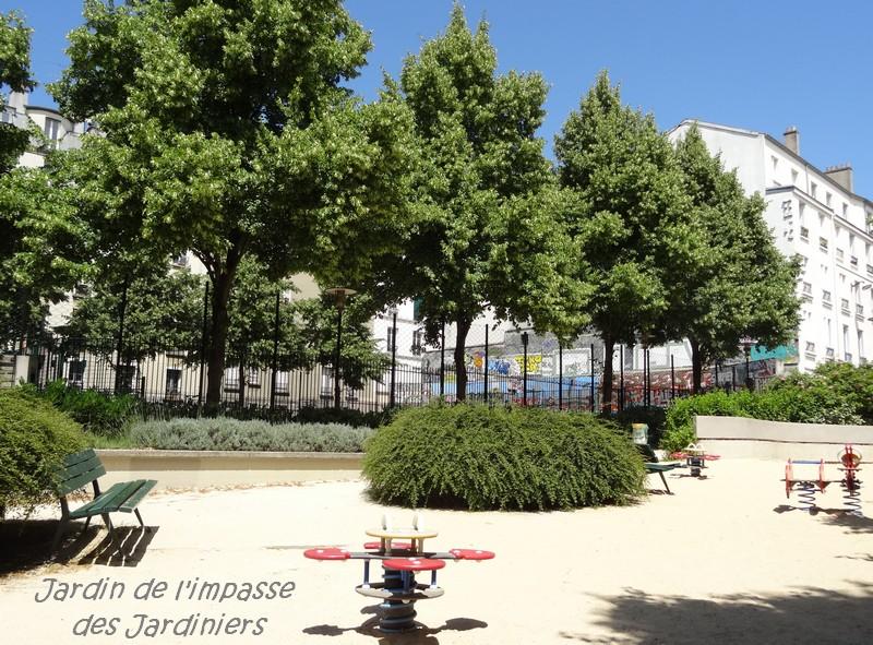 Des squares et jardins Parisiens (2)….