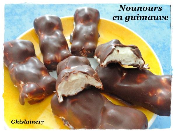 Nounours en guimauve