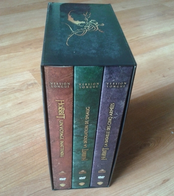 Le coffret versions longues du Hobbit !
