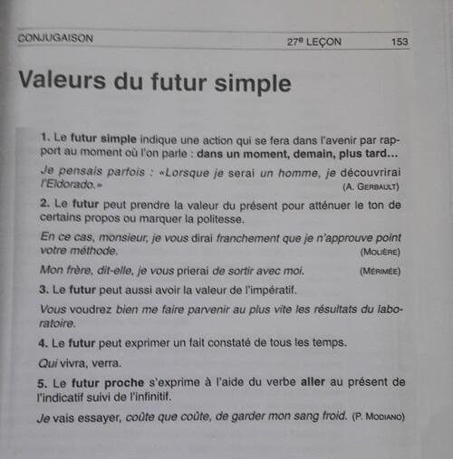 F / Les valeurs du futur
