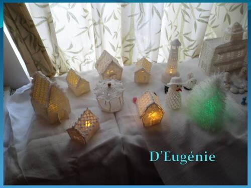 Le village blanc d'Eugénie
