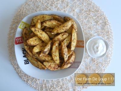 Frites au four maison