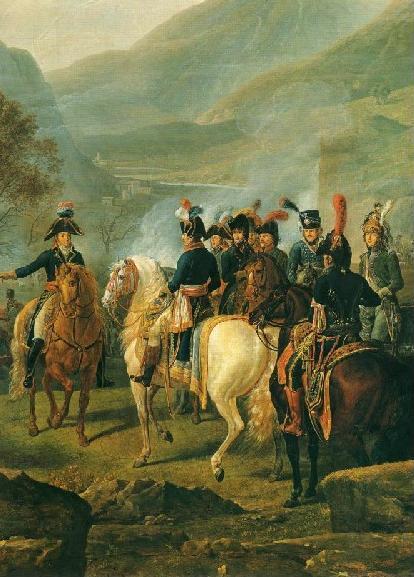 Le général Bonaparte lors de la bataille de Castiglione le 5 août 1796 par Nicolas-Didier Boguet