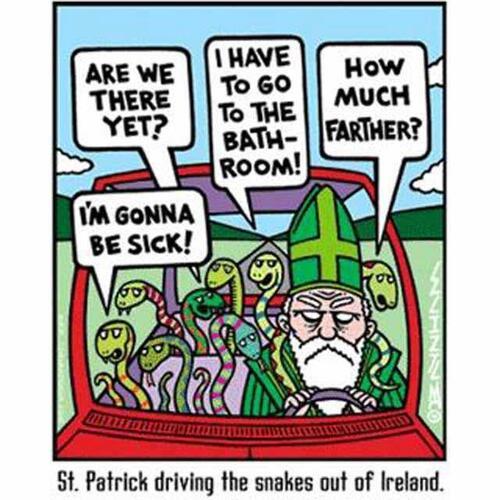 Pourquoi je ne fête pas la Saint Patrick?