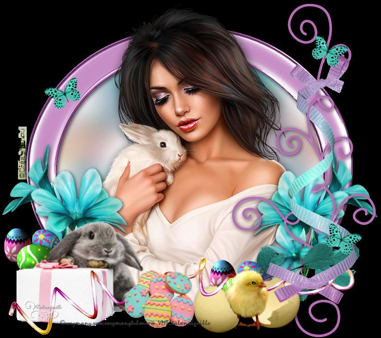 *** 08-Lapins de Pâques  ***