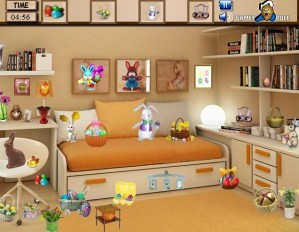 Easter room - Hidden objects