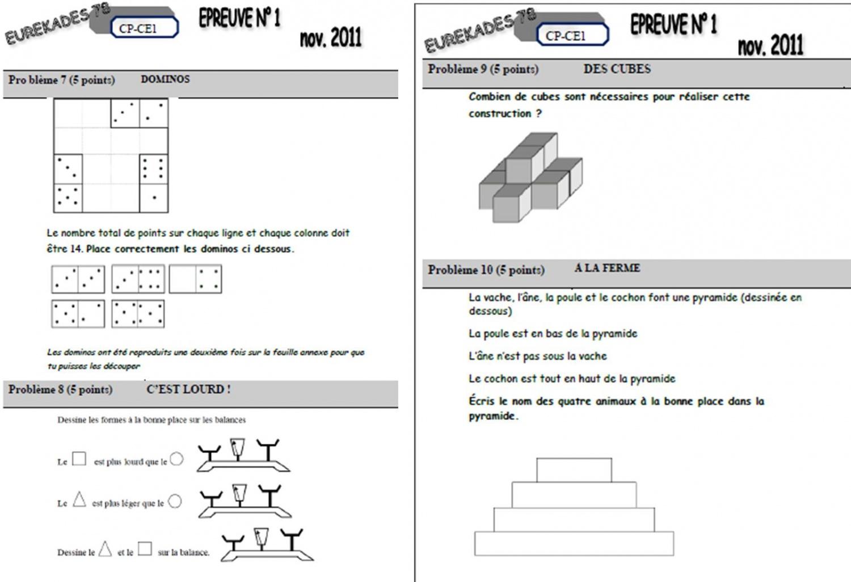 Très Rallye maths : les eurékades - Véro à l'école QV83