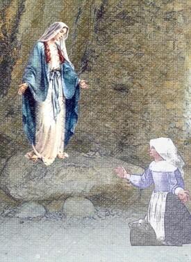 Prière à Notre Dame du Laus