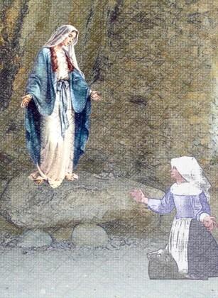 Prière Notre Dame du Laus (Huile)