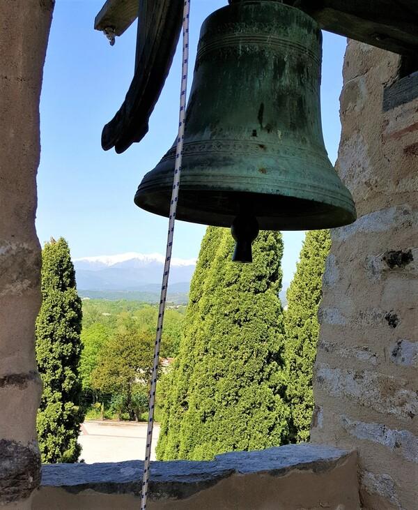Le massif du Canigou, depuis St Jean Plats de Corts...