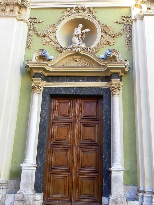 Nice  : ste   REPARATE, cathédrale baroque