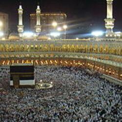 La Kaaba et Al Masjid Al Haram, en Mecque, Saudi Arabia