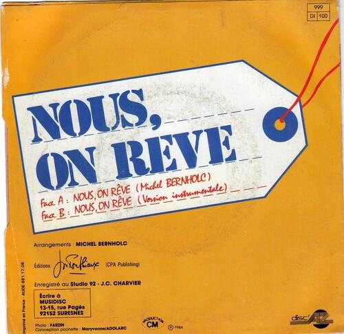 Eric Miller - Nous, On Reve (1984) 02